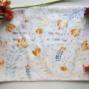 Tulips challah cover