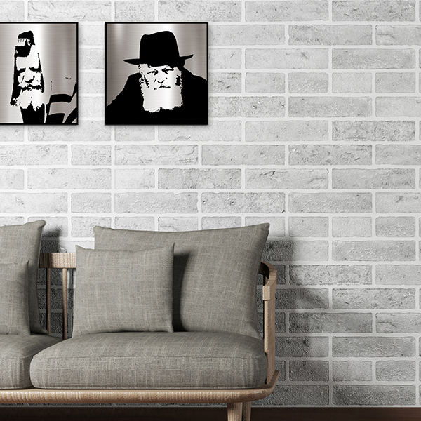 Lubavitcher Rebbe modern artwork